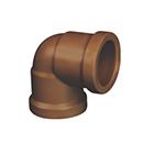 COTOVELO CORR PLASTIK LL B 3/4X90 MARROM