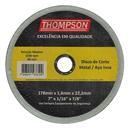 DISCO SPED/INOX THOMPSON 7X7/8X1,6